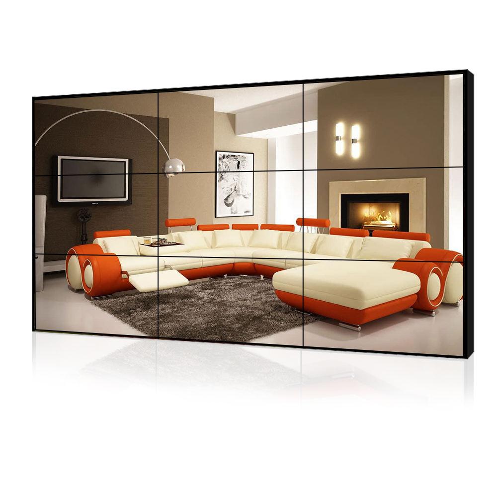 Fornitore della fabbrica 46 Pollice Senza Soluzione di Continuità A Muro per TV <span class=keywords><strong>LCD</strong></span> Video Wall per la Pubblicità Lettori HD