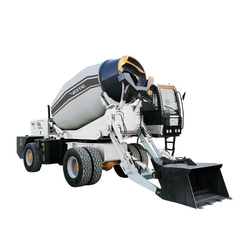 [ Mixer 4 Truck ] Mini Concrete Mixer 4 Cubic Meters Concrete Mixer Truck For Sale