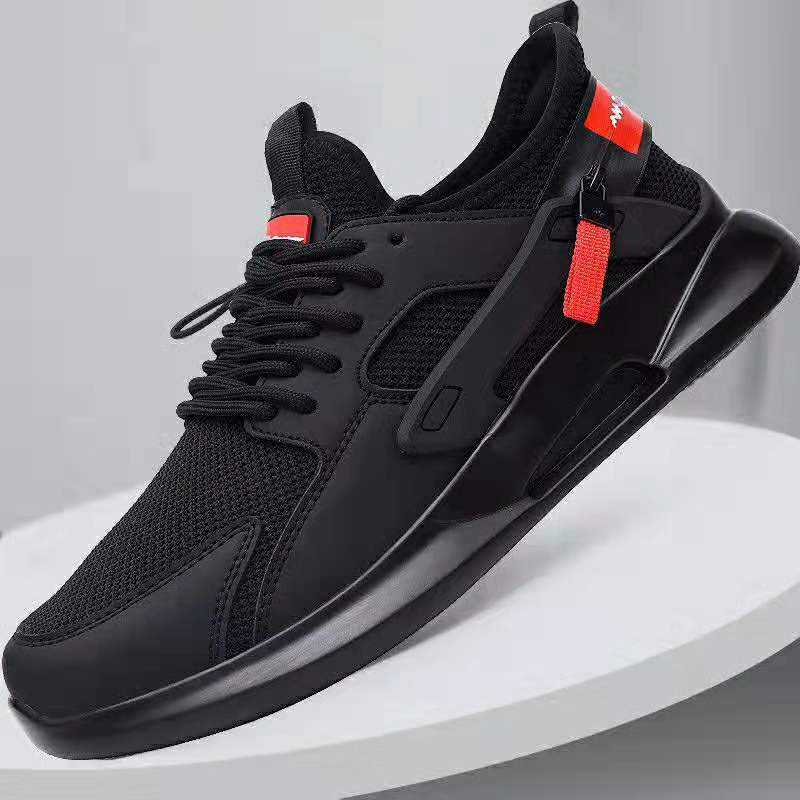 High quality red casual jogging sneakers