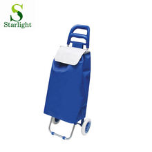 simple shopping car with waterproof polyester bag
