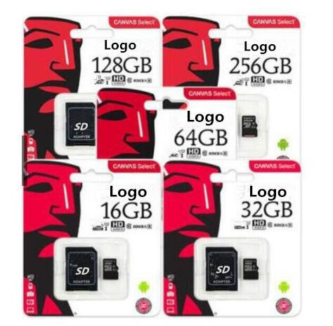 Full Capacity High Speed Micro TF SD Card U3 8GB 16GB 32GB 64GB 128GB 256GB Memory Card