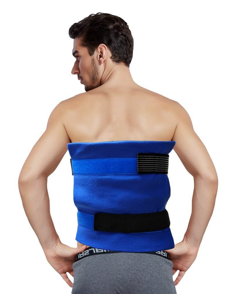 Reusable Cold Therapy for Pain and Injuries Gel Ice Pack With Straps/wrap Around Knee/Shoulder/Back/Ankle/ Neck/Hip/Wrist