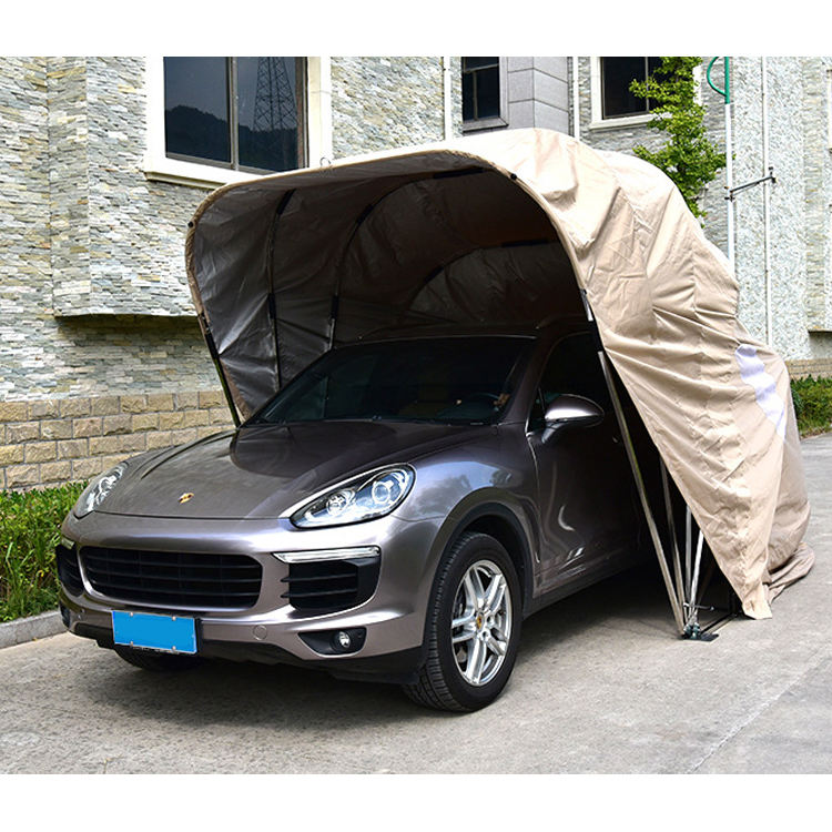 Waterproof All Weather Proof Car Park Garage Foldable Car Shelter Canopy Garage Tent foldable retractable lockable carport