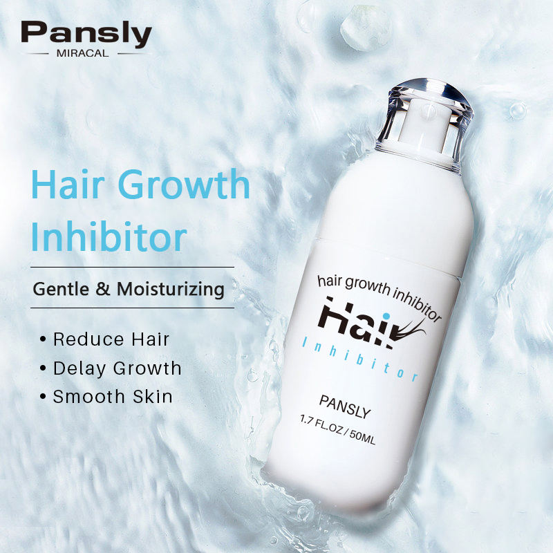 Hair Growth Inhibitor Cream PANSLY 100% Natural Permanent Neud Hair Inhibitor Depilatory Cream Hair Growth Inhibitor Removal Cream
