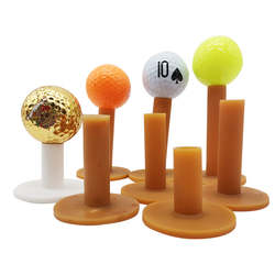 High Quality  Rubber T Match With Driving Range Mats 35/54/60/65/70/80/83 MM Height Rubber Golf Tees