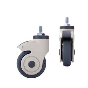 Factory price 100mm swivel castor wheel for cart