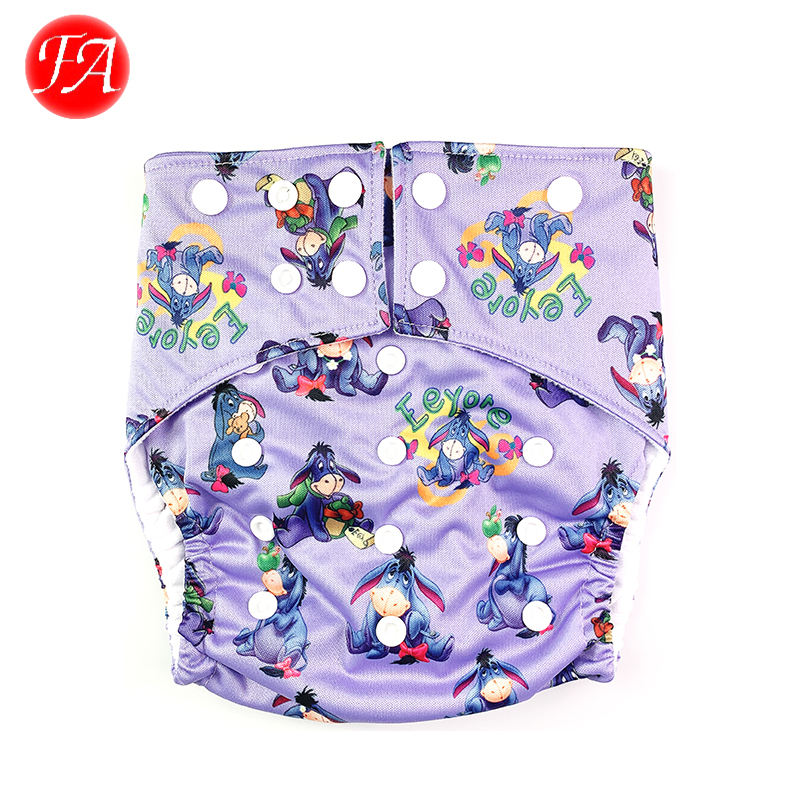 Factory price waterproof breathable eco-friendly material baby cloth diaper for children