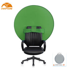 New Products Telecommuters Foldable Portable Blue Screen Webcam Privacy Backdrop Videos portable Background