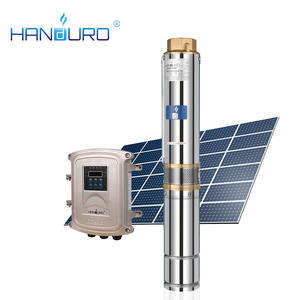HD-4SC6-42-48-600 dc 4 inch solar water pump set solar water pump for solar well pump