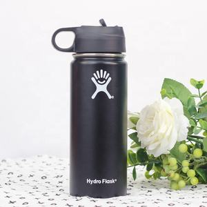 Quality Sports Bottle Flask 18oz 32oz Tumbler Flask Vacuum Insulated Flask Stainless Steel Water Bottle Wide Mouth Outdoor