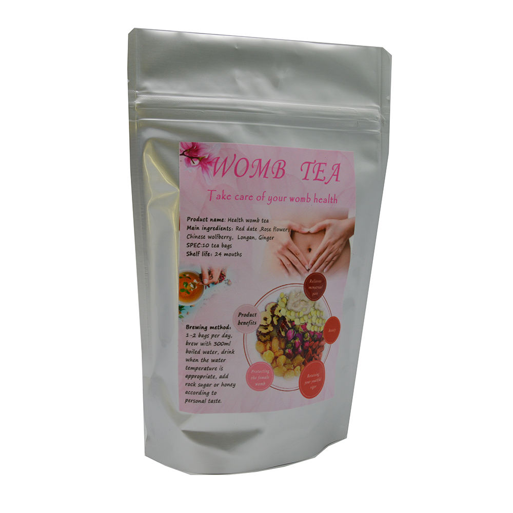 Private Label Chinese Popular Warm Womb Detox Healthy Herbal Uterus Tea for Woman
