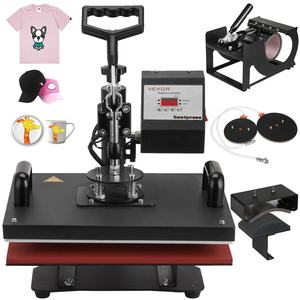 5 in 1 T-Shirt Heat Press Machine Mug Hat Cup Sublimation Printing