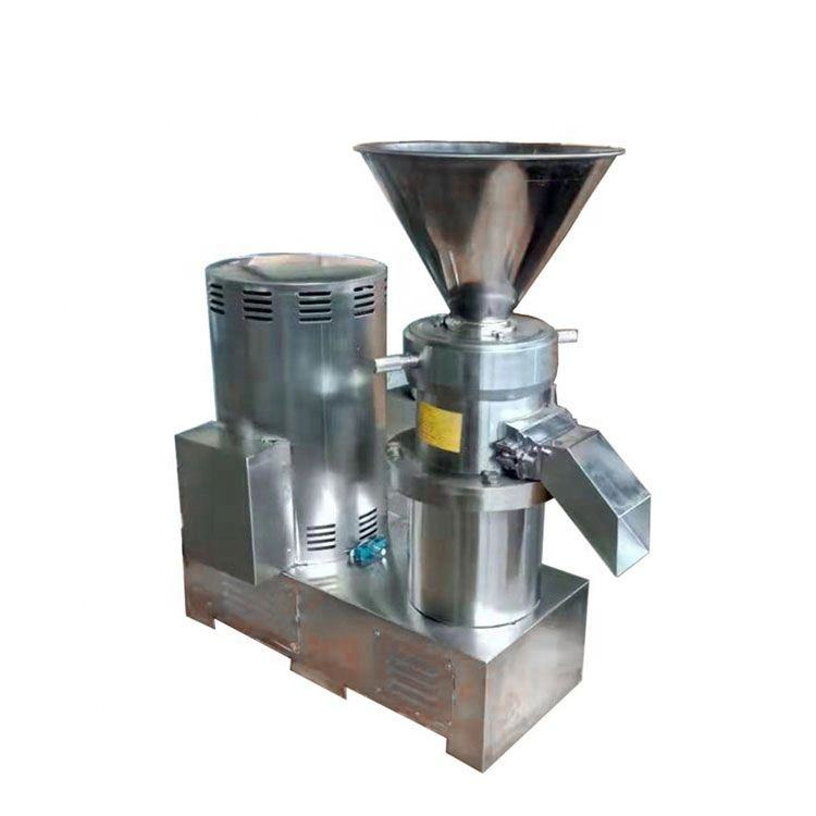 Stainless Steel Food Grinder Peanut Butter Milling Machine Colloid Milling