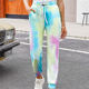 Trousers Wholesale Fashion Women Trousers Tie-dye Style Casual Wear New Design Wholesale Women Trousers