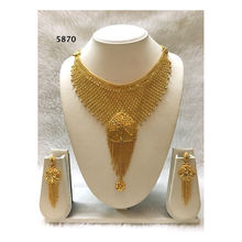 Exclusive Mali Gold Fashion Necklace Design African Wedding Jewelry