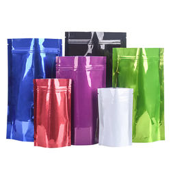 Colorful Aluminum Foil Stand Up Bag Plastic Bags Food Packing