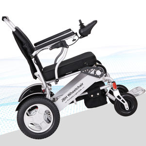 Electric Wheelchair D09 180kg capacity foldable portable lithium battery power wheelchair for elderly