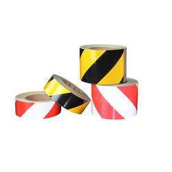 Yellow & Black or Red & White Barrier Polyethylene Printed Caution Tape Coating
