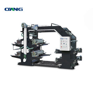High Quality Cheap Non Woven Fabric Printing Machine, Multi Color Non Woven Bag Printing Machine