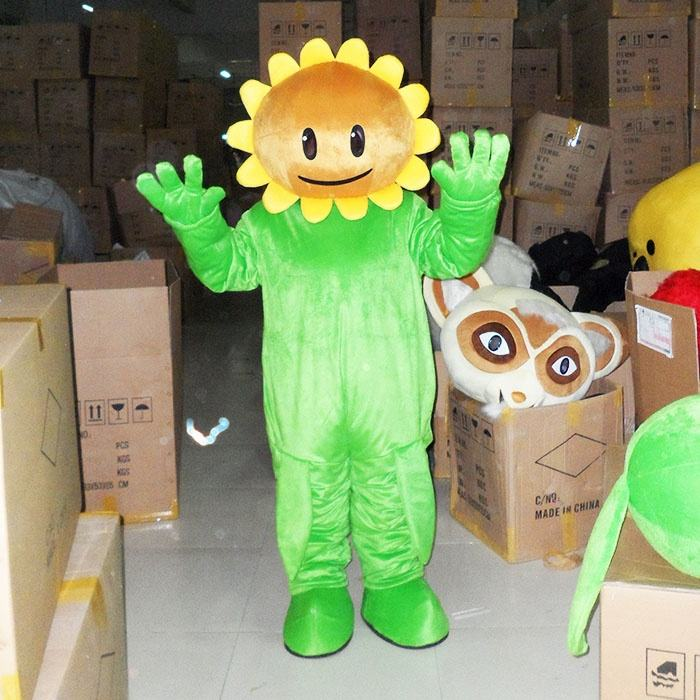 Enjoyment CE cute Sun Flower Mascot Costume for cosplay
