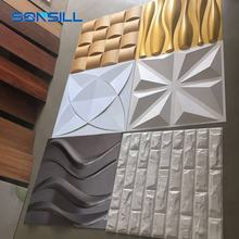 Rich Color Home Decoration Wall Panels Interior 3d Wallpaper