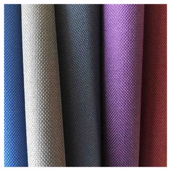 64T 600 denier 100% polyester oxford fabric with PVC PU coating for luggages