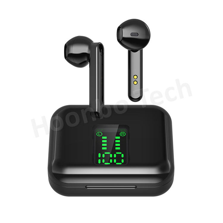 2020 Newest Q5 TWS Earphone In-ear Earbuds LED Display Bluetooth 5.0 Wireless Earphone 8d Stereo Touch Control