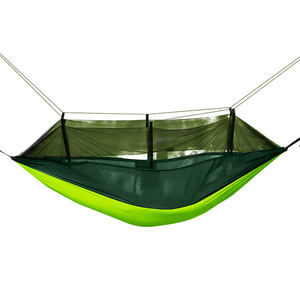 2020 new mosquito net hammock Outdoor camping mosquito net hammock swings leisure encryption mesh hammock