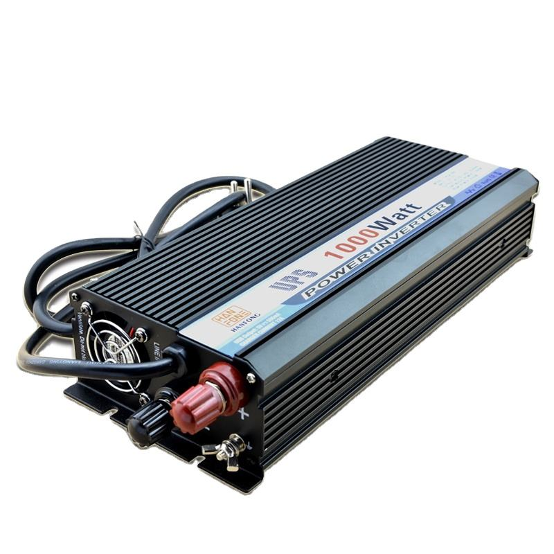 Make In China Inverter Factory Hanfong New Energy 1000W Car Power Inverter With USB Charger Batteries For Inverter