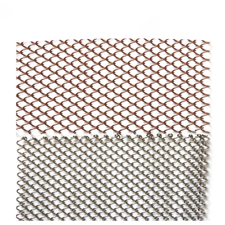 Customized Different Type Netting Curtain Decorative Stainless Steel Wire Mesh