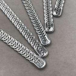 Factory plating spirals bone flat spring support fish bone