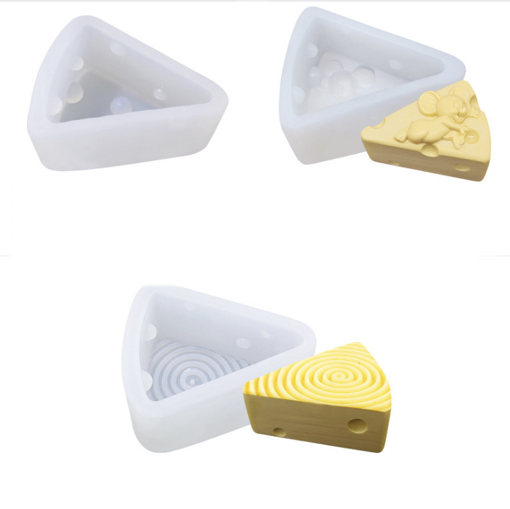 3D cheese shaped silicone cake molds Silicone Mold for Soap/cake/chocolate/mousse/ice cream