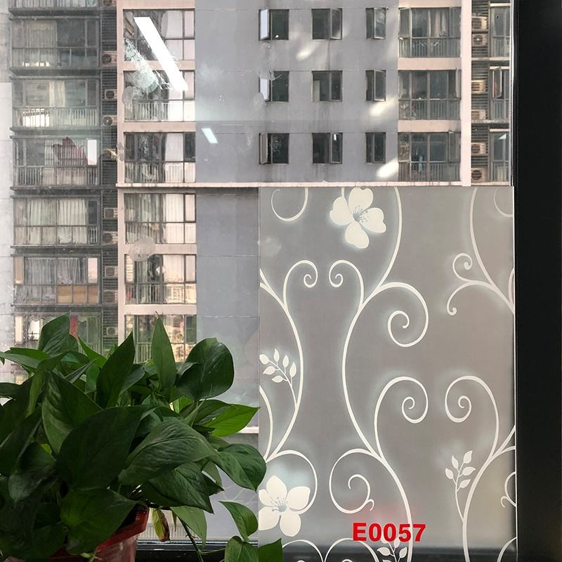 good quality privacy protection waterproof UV Blocking pvc window glass film