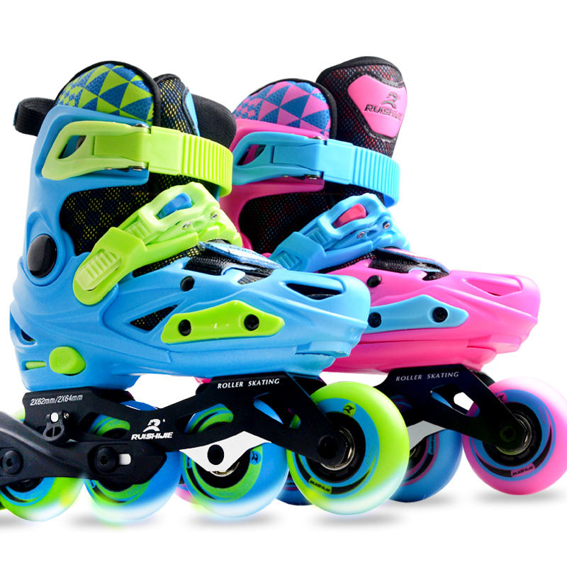 wholesale cheap 4 wheels kids custom inline shoes roller skate