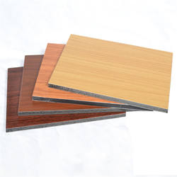 Hot sale wholesale custom metal coating aluminum composite panels