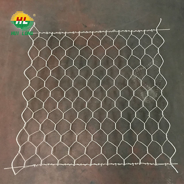 2*1*1m 8*10mm mesh size galvanized gabion box price direct factory / gabion retaining wall for construction water used