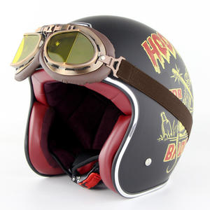 Harley Retro Summer helmets Electric Car Motor Cycle Helmets for Men And Women