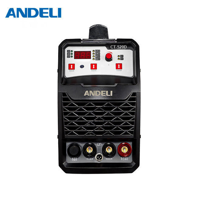 ANDELI 3in1 CT-520D smart portable welding machine 220V 3 in 1 welder with CUT/MMA/TIG welding machine 3 in 1