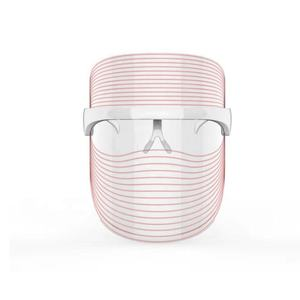 Infrared Light Face and Neck Whitening Facial Mask Face Lifting LED light Therapy Mask for women skin care