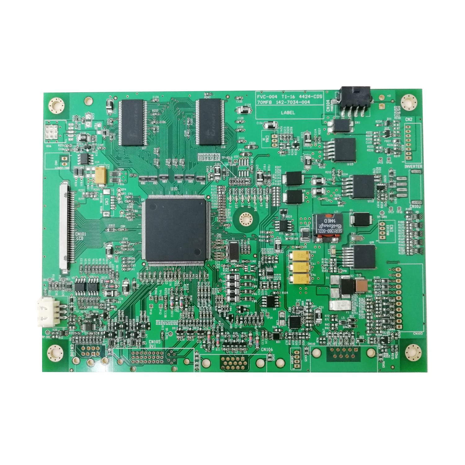 Low cost PCBA, One-stop production ultra-thin fuselage TFT lCD display module controller board