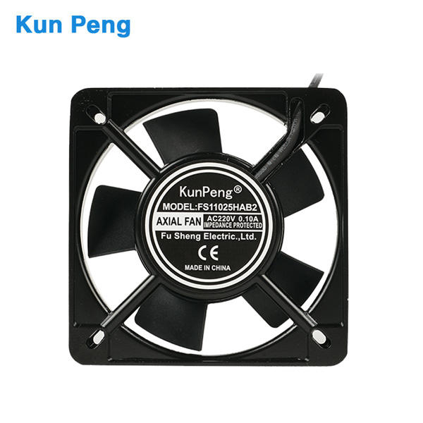 11025 AC fans 220V 230V 110mm*25mm square metal axial air cooling fan