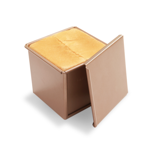 square box toast bread baking molds for making breads with lid
