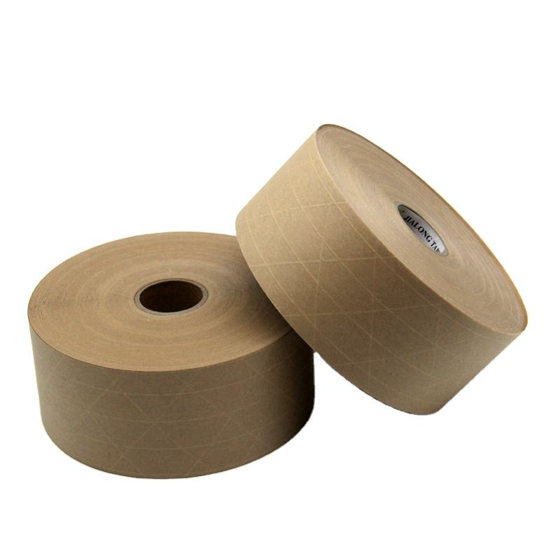 Eco-Friendly Water Activated Reinforced Gummed Tape of Shipping Cartons