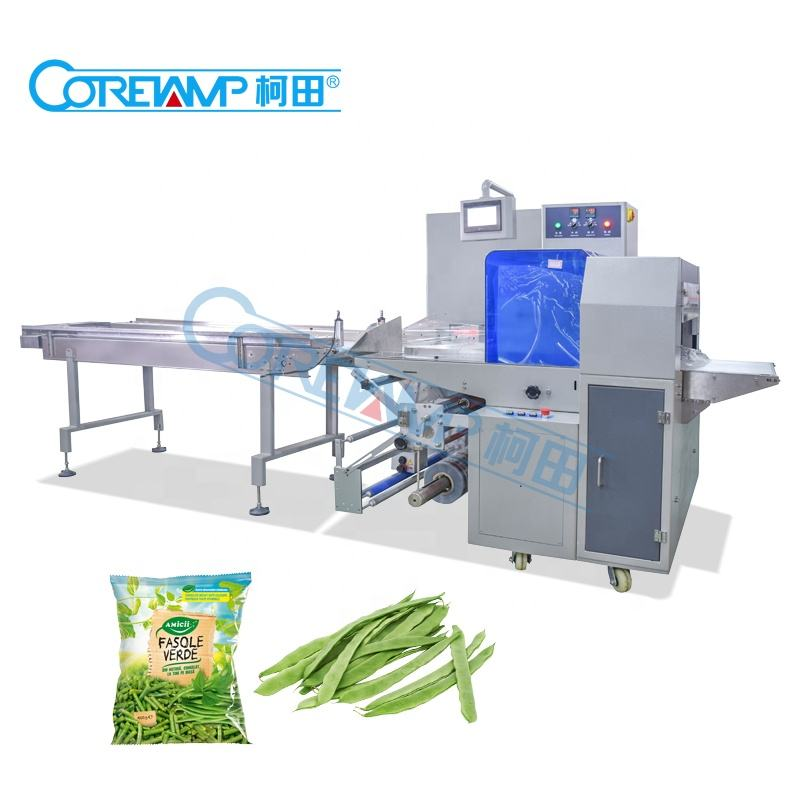VT-280X Double Servo Fresh Fruit and Vegetable Packing Machine multifunction packaging equipment