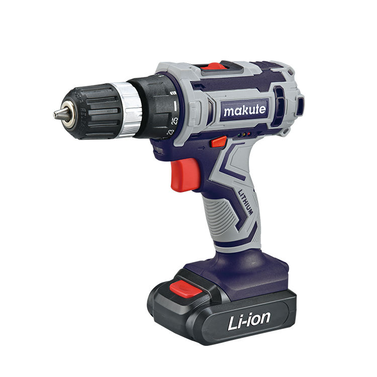 Makute lituium 16V 18V 20V mini Cordless Drill with LED light
