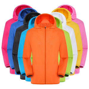 2019 KCOA Wholesale UV Proof Water Repellent Women and Men Wind Breaker Jacket