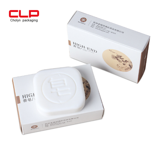 soap Custom Printed Disposable Packaging Paper Box