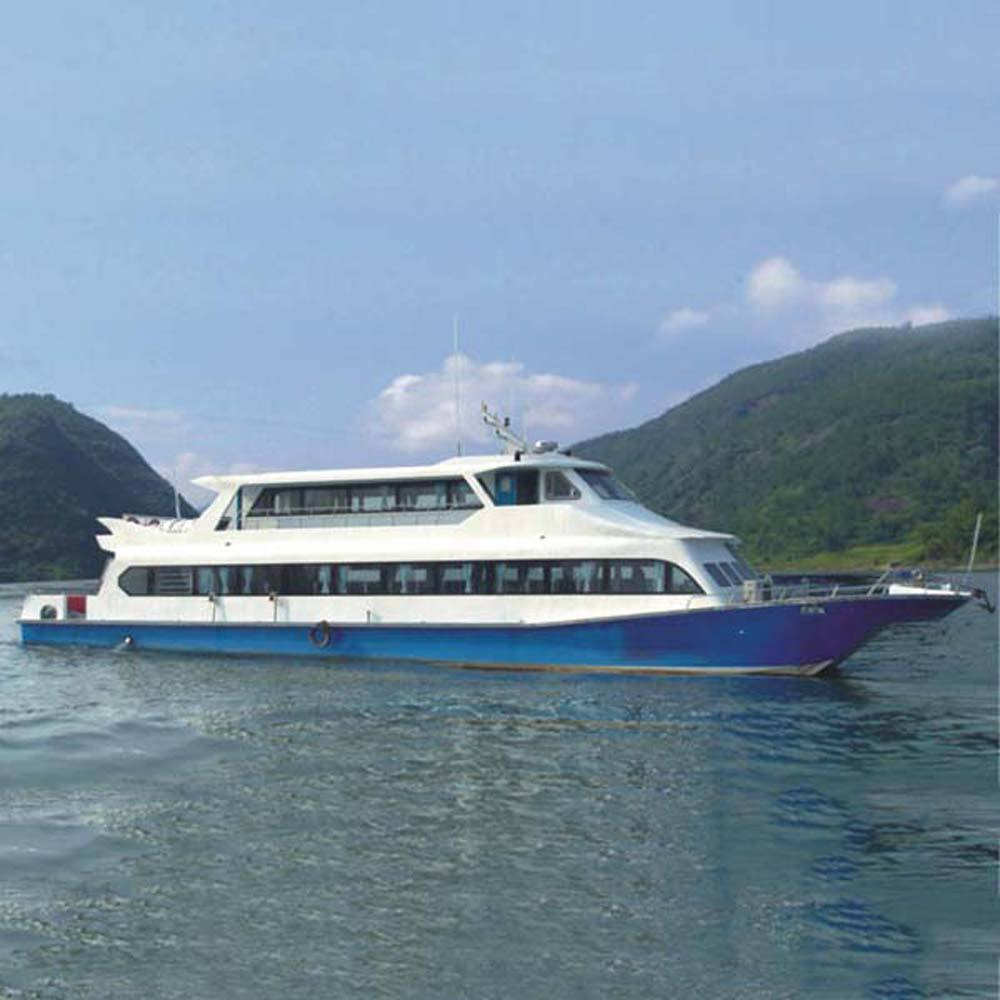 140seats Steel hull Passenger boat 26.8m coastal commercial sightseeing Double body high speed passenger ferry ship