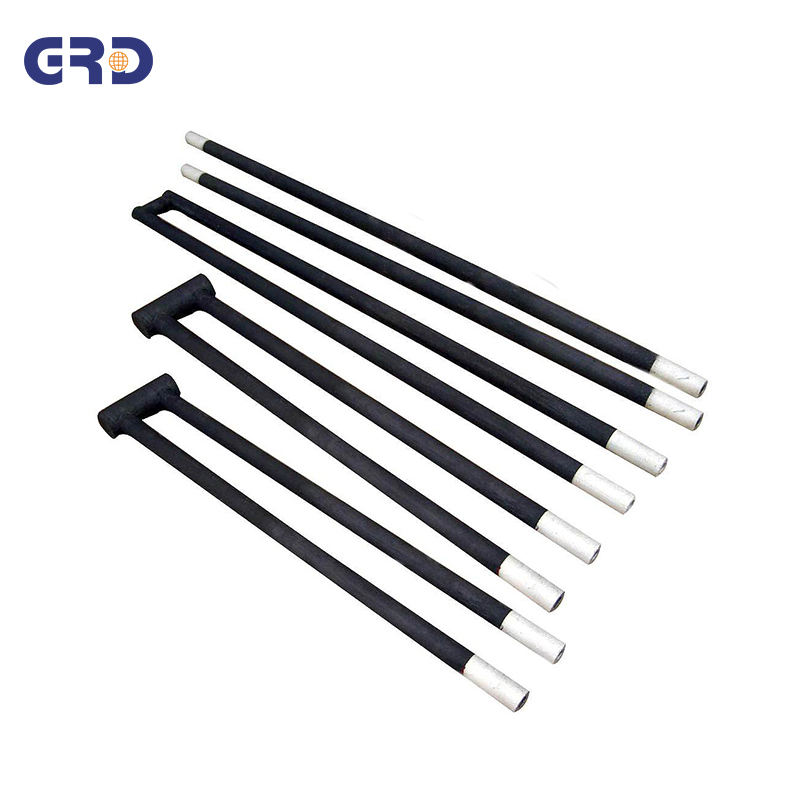 Electric silicon carbide heater rod sic heating element
