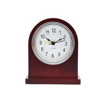 table clock with snoose hotel wooden alarm clock